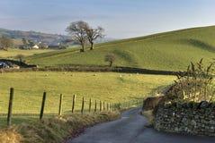 Carretera nacional inglesa Foto de archivo libre de regalías