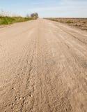Carretera nacional polvorienta fotos de archivo