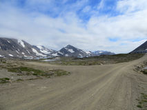 Carretera nacional septentrional Fotos de archivo