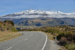 Carretera Nueva Zelandia Fotografía de archivo