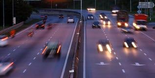 Carretera ocupada Imagen de archivo