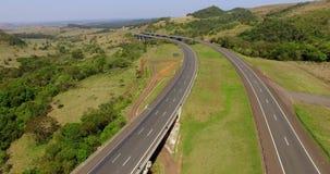 Carretera por todo el mundo, carretera Castelo Branco, sao Paulo South America Brazil metrajes