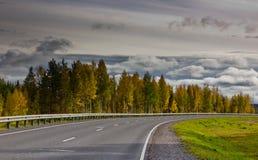 Carretera principal Fotografía de archivo