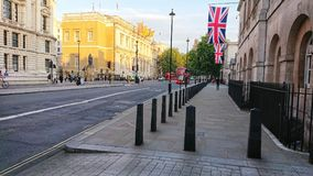 Carretera principal que lleva a ben grande Londres Inglaterra foto de archivo