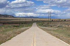 Carretera principal vieja Fotografía de archivo libre de regalías