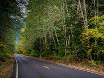 Carretera sola imagen de archivo
