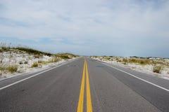 Carretera solitaria Fotografía de archivo libre de regalías