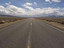 Carretera solitaria de Utah Imagen de archivo libre de regalías
