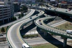 Carretera urbana Foto de archivo libre de regalías