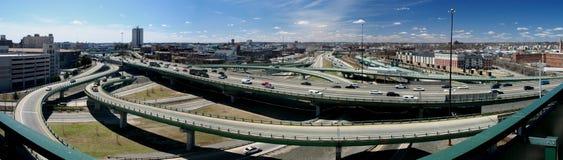 Carretera urbana imagen de archivo