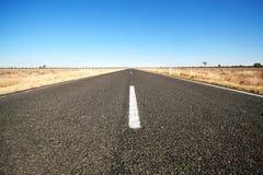 Carretera vacía Fotografía de archivo