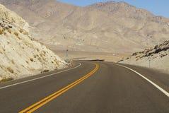 Carretera vacía Imagenes de archivo