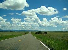 Carretera vieja del campo Fotografía de archivo