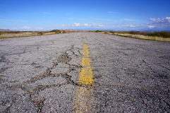Carretera vieja, Utah imagen de archivo