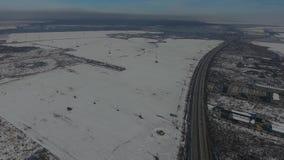 Carretera vista desde arriba, opinión del abejón metrajes