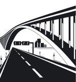 Carretera y puente urbanos