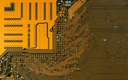 Carreteras digitales de la placa de circuito Imágenes de archivo libres de regalías