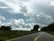 Carreteras nacionales imagen de archivo libre de regalías