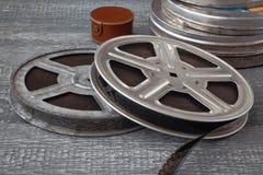 Carretes con viejas películas Fotografía de archivo