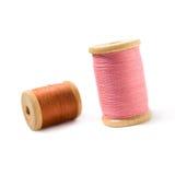 Carretes de la cuerda de rosca Imagenes de archivo