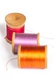 Carretes de la cuerda de rosca Imagen de archivo