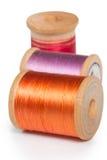 Carretes de la cuerda de rosca Fotografía de archivo