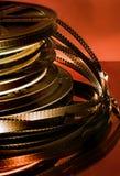 Carretes de película Fotografía de archivo libre de regalías