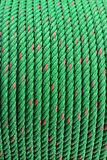 Carretes verdes de las cuerdas Foto de archivo libre de regalías
