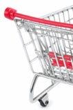 Carretilla de las compras Imagenes de archivo
