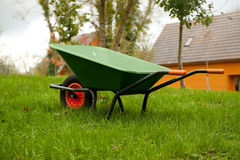 Carretilla de rueda Foto de archivo libre de regalías