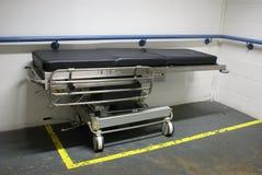 Carretilla del hospital Fotografía de archivo libre de regalías