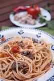 Carrettiera de spaghetti Photographie stock libre de droits