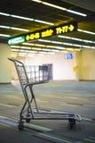 Carretto dei bagagli Immagine Stock
