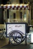 Carretto del gelato Fotografie Stock Libere da Diritti