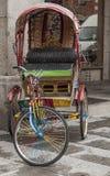 Carretto del triciclo Fotografia Stock