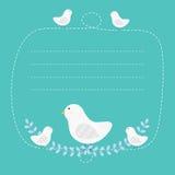 Carretto dell'uccello Fotografie Stock