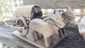 Carretto della mucca immagine stock
