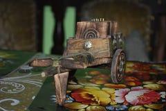 carretto di Bullock handcrafted immagini stock libere da diritti