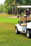 Carretto di golf Fotografie Stock