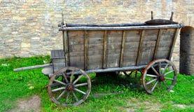 carretto di legno Immagini Stock
