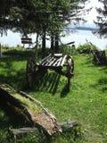 Carretto di legno Fotografia Stock