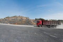 Carrière de ciment photographie stock libre de droits