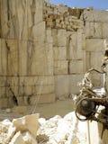 Carrière de marbre Photographie stock
