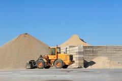 Carrière de sable Photographie stock