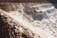 Carrière de sable Images libres de droits
