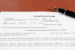 Carrière en Allemagne Photos libres de droits