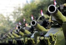 Carri armati di esercito serbi fotografie stock libere da diritti