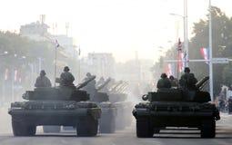 Carri armati e veicoli militari fotografia stock libera da diritti