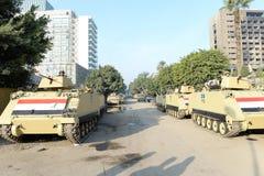 Carri armati a Il Cairo, Egitto Fotografia Stock