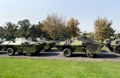 Carri armati militari Immagini Stock